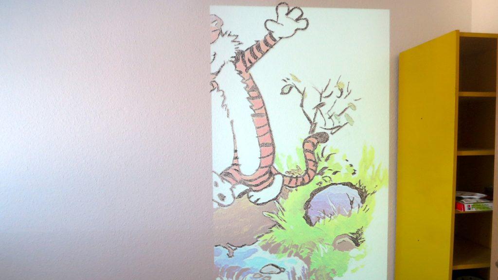 Ein Wandbild Fürs Kinderzimmer Ganz Einfach 8bitpapa