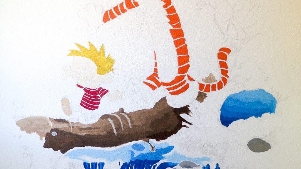 Ein Wandbild Furs Kinderzimmer Ganz Einfach 8bitpapa