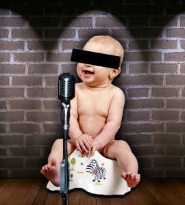 Ein Babyfoto tut doch niemandem weh